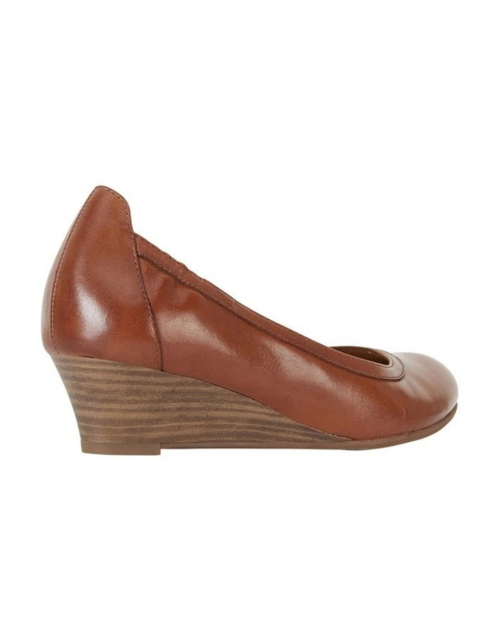 Elton Cognac Glove Heeled Shoes image 4