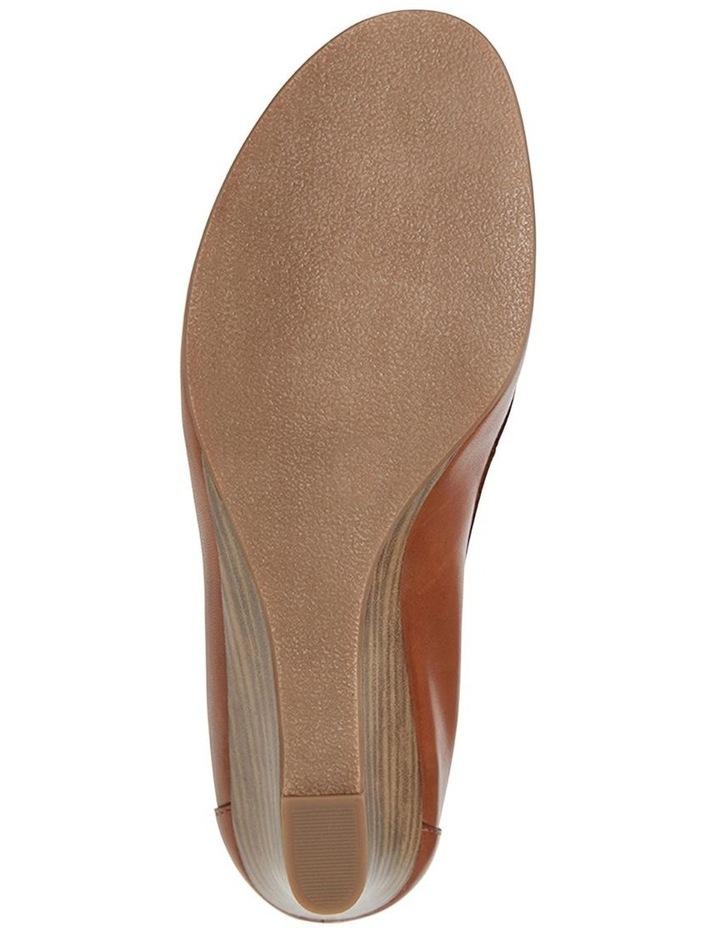 Elton Cognac Glove Heeled Shoes image 6