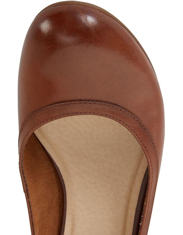 Elton Cognac Glove Heeled Shoes image 7