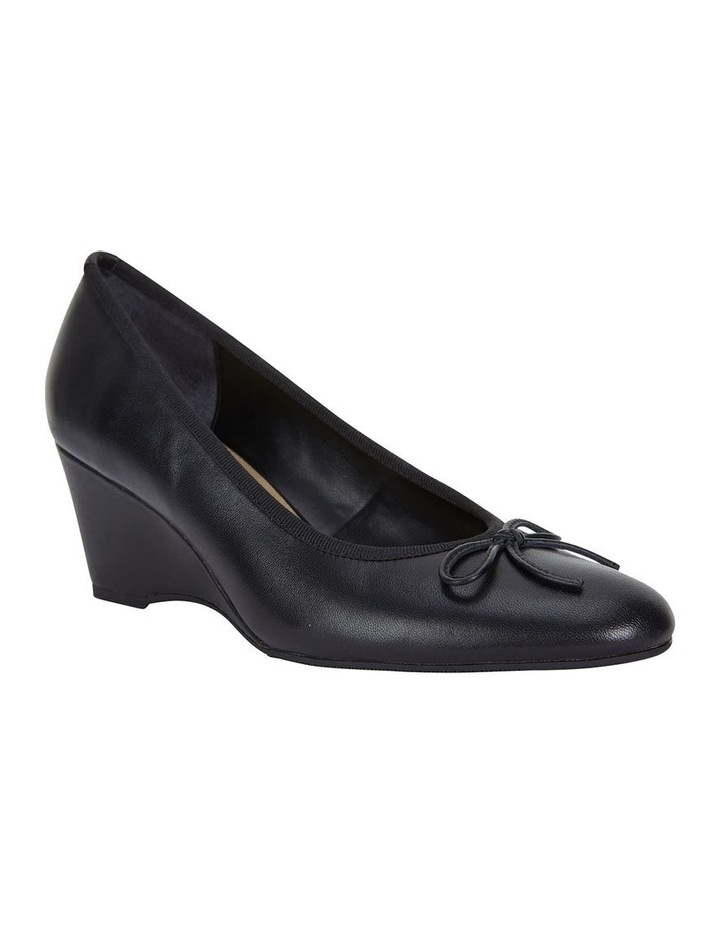 Manor Black Glove Heeled Shoes image 2