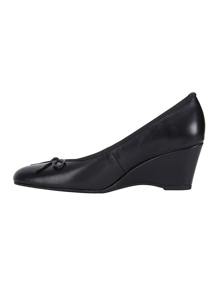 Manor Black Glove Heeled Shoes image 3