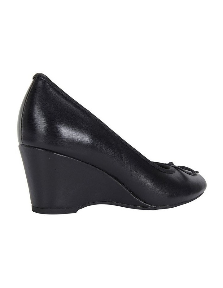 Manor Black Glove Heeled Shoes image 4