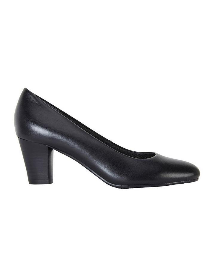 Marley Black Glove Heeled Shoes image 1