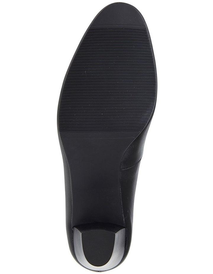 Marley Black Glove Heeled Shoes image 6