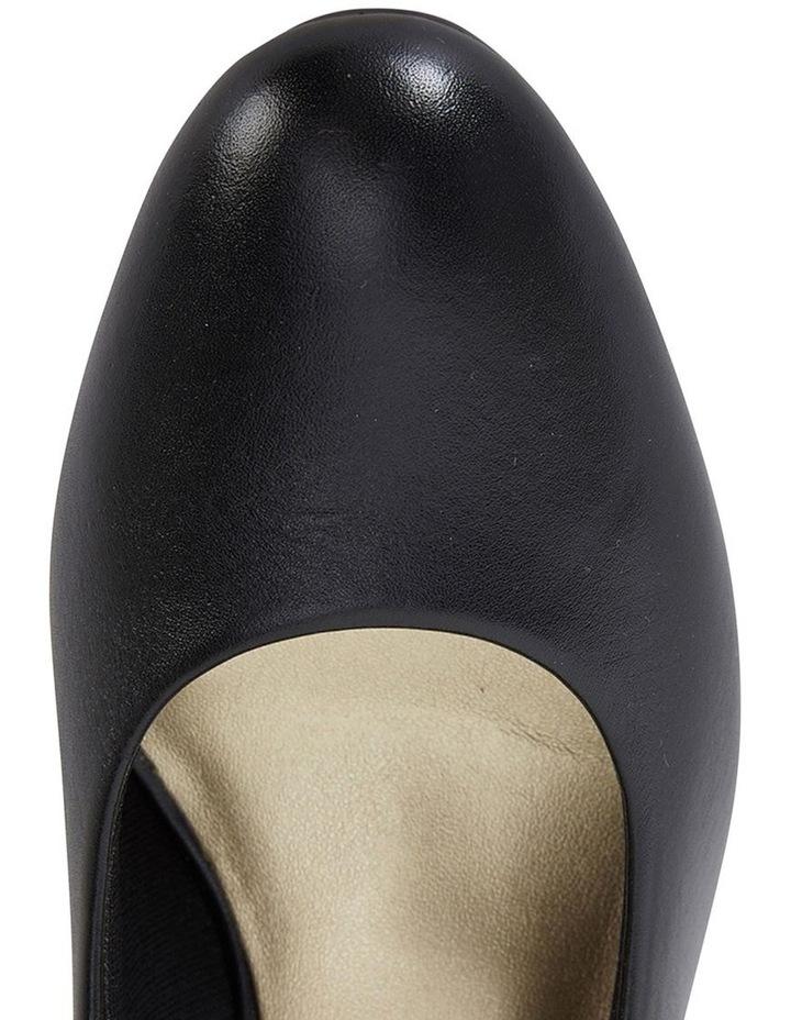 Marley Black Glove Heeled Shoes image 7
