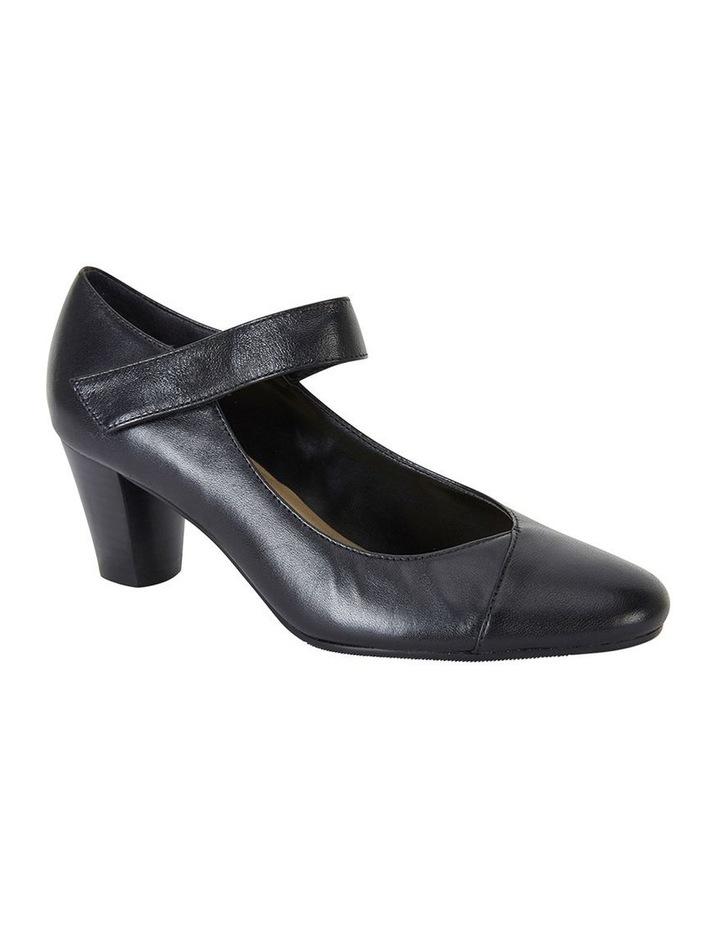 Megan Black Glove Heeled Shoes image 2