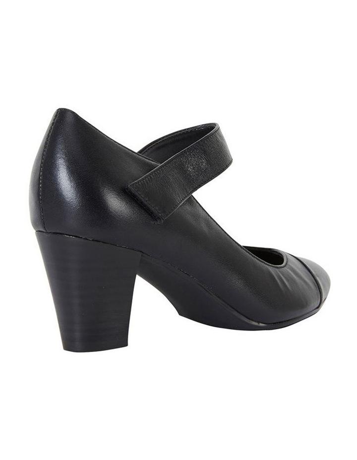 Megan Black Glove Heeled Shoes image 4