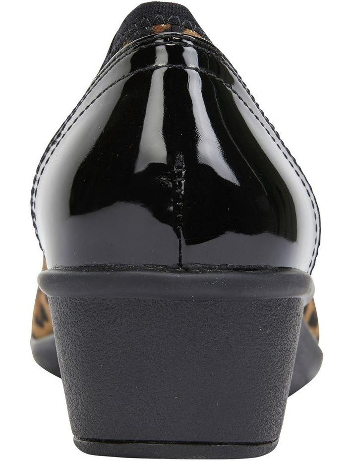Prague Animal Fabric Heeled Shoes image 5