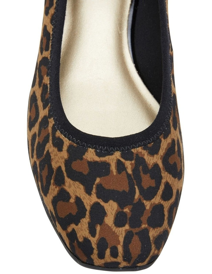 Prague Animal Fabric Heeled Shoes image 7
