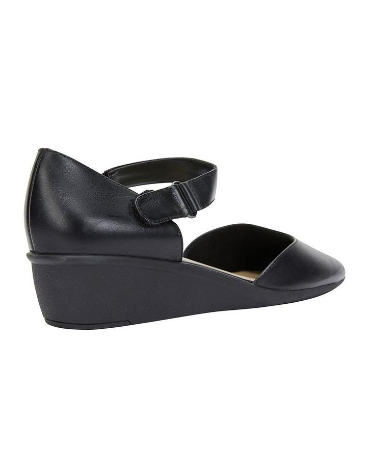 Pavilion Black Glove Heeled Shoes image 4