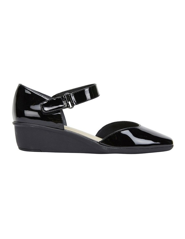 Pavilion Black Patent Heeled Shoes image 1