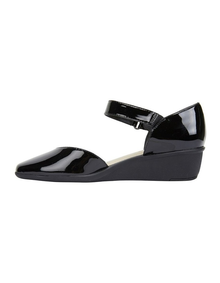 Pavilion Black Patent Heeled Shoes image 3