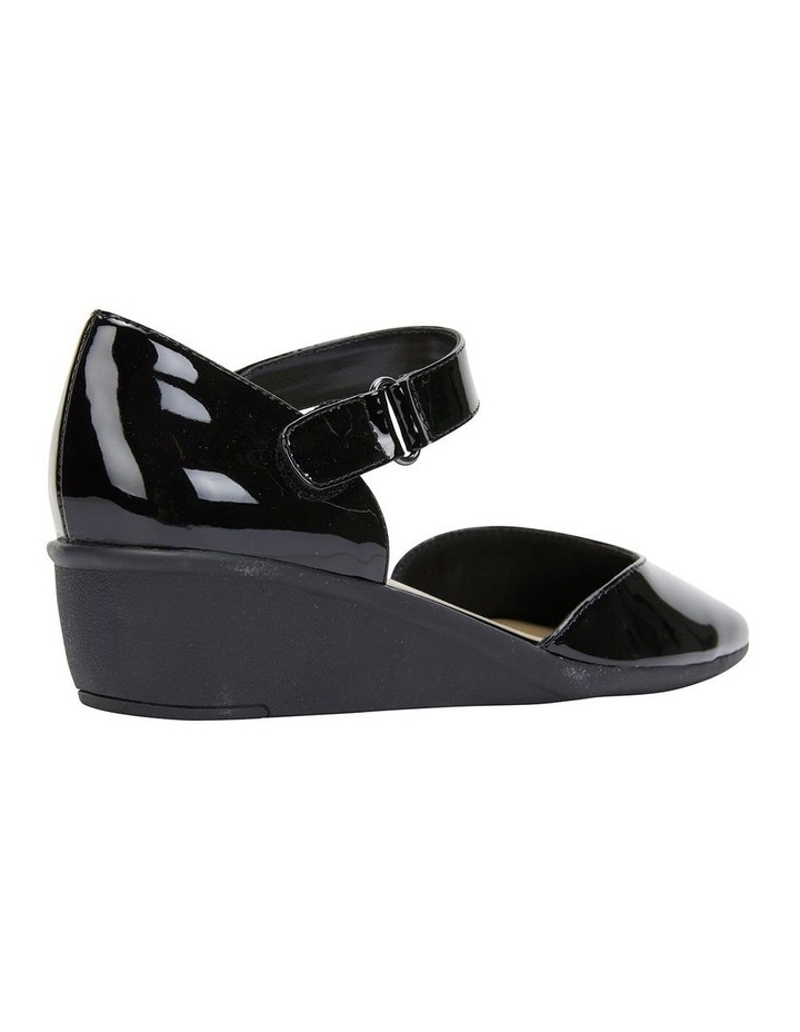 Pavilion Black Patent Heeled Shoes image 4