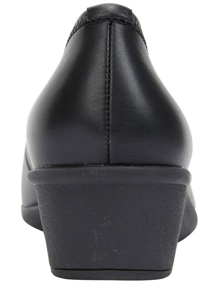 Prism Black Glove Heeled Shoes image 5