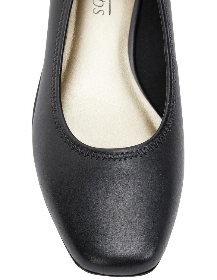 Prism Black Glove Heeled Shoes image 7