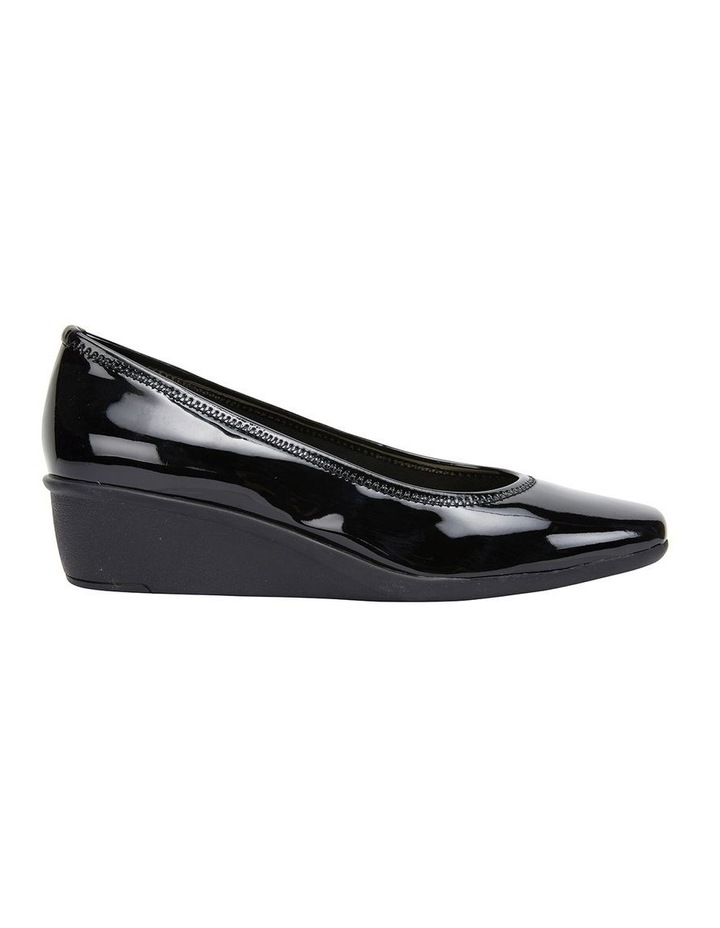 Prism Black Patent Heeled Shoes image 1