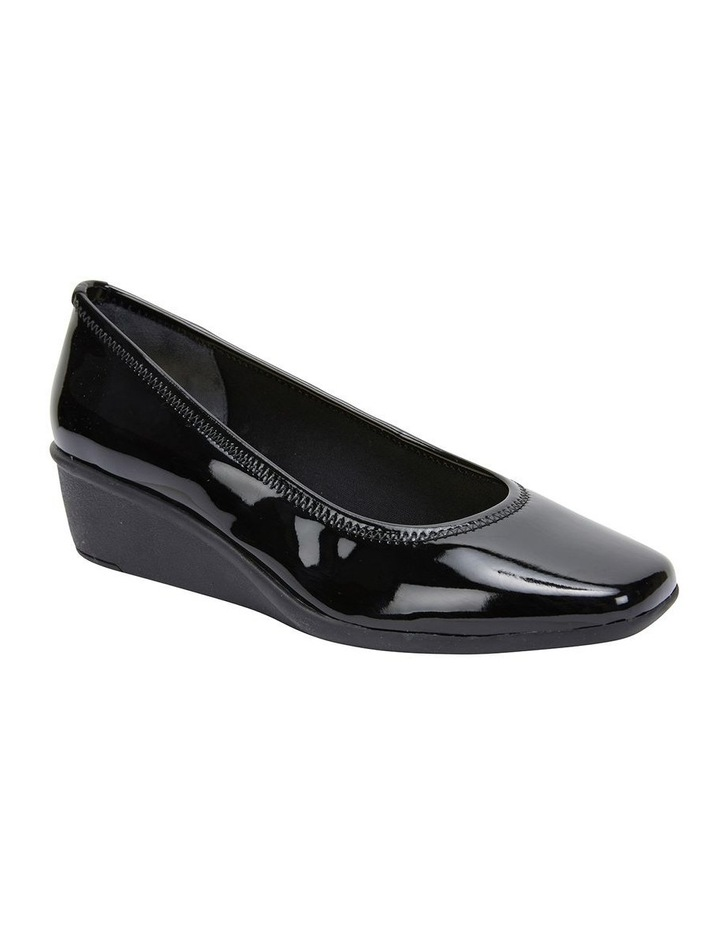 Prism Black Patent Heeled Shoes image 2