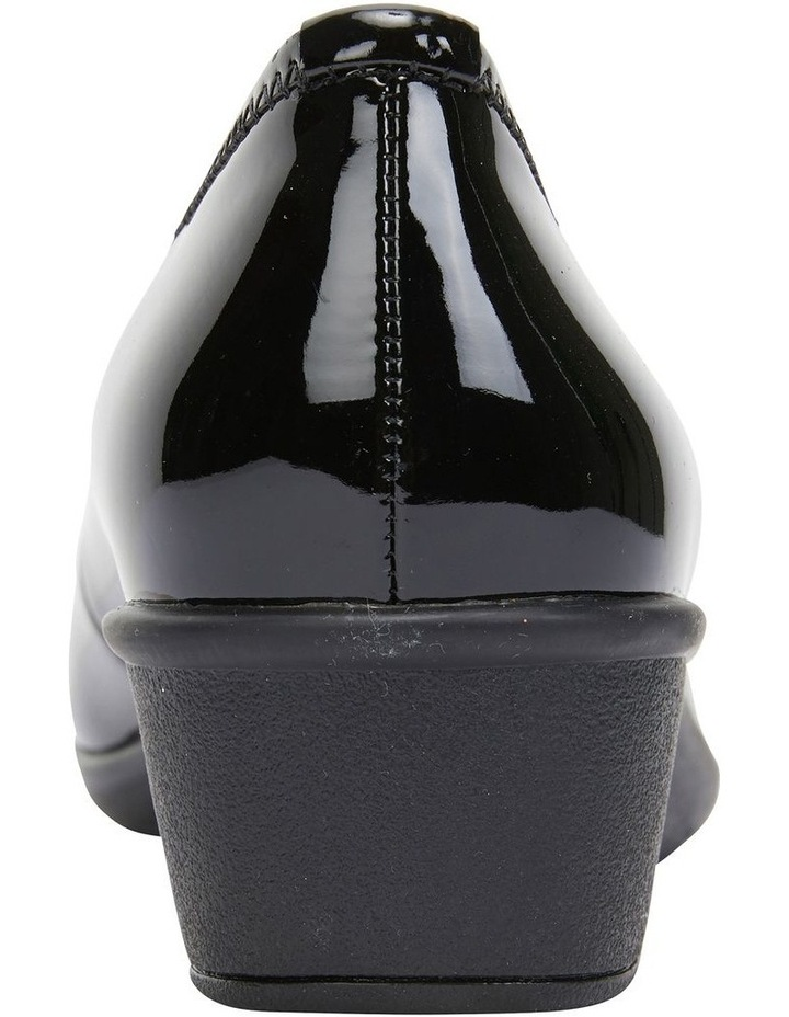 Prism Black Patent Heeled Shoes image 5
