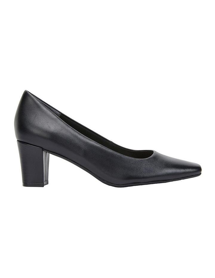 Nicole Black Glove Heeled Shoe image 1