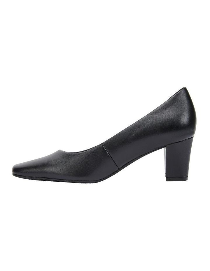 Nicole Black Glove Heeled Shoe image 3