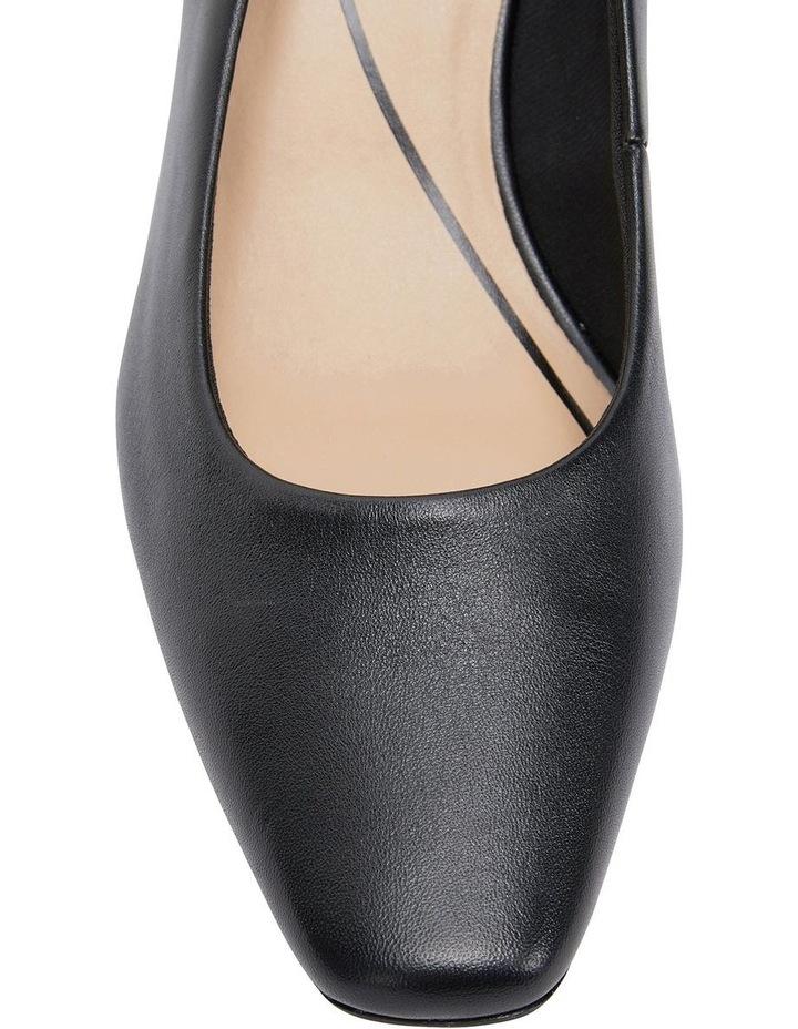 Nicole Black Glove Heeled Shoe image 7