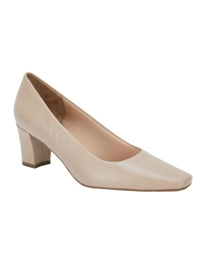 Nicole Nude Glove Heeled Shoe image 2