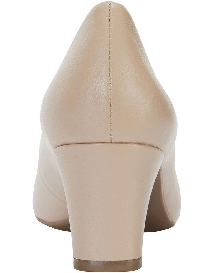 Nicole Nude Glove Heeled Shoe image 5