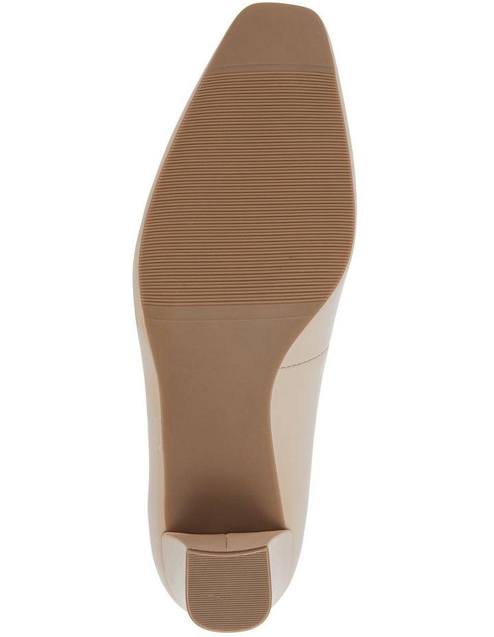 Nicole Nude Glove Heeled Shoe image 6