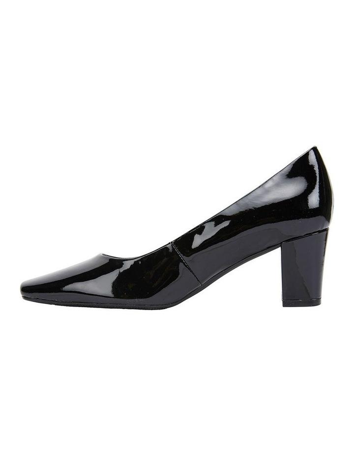 Nicole Black Patent Heeled Shoe image 3