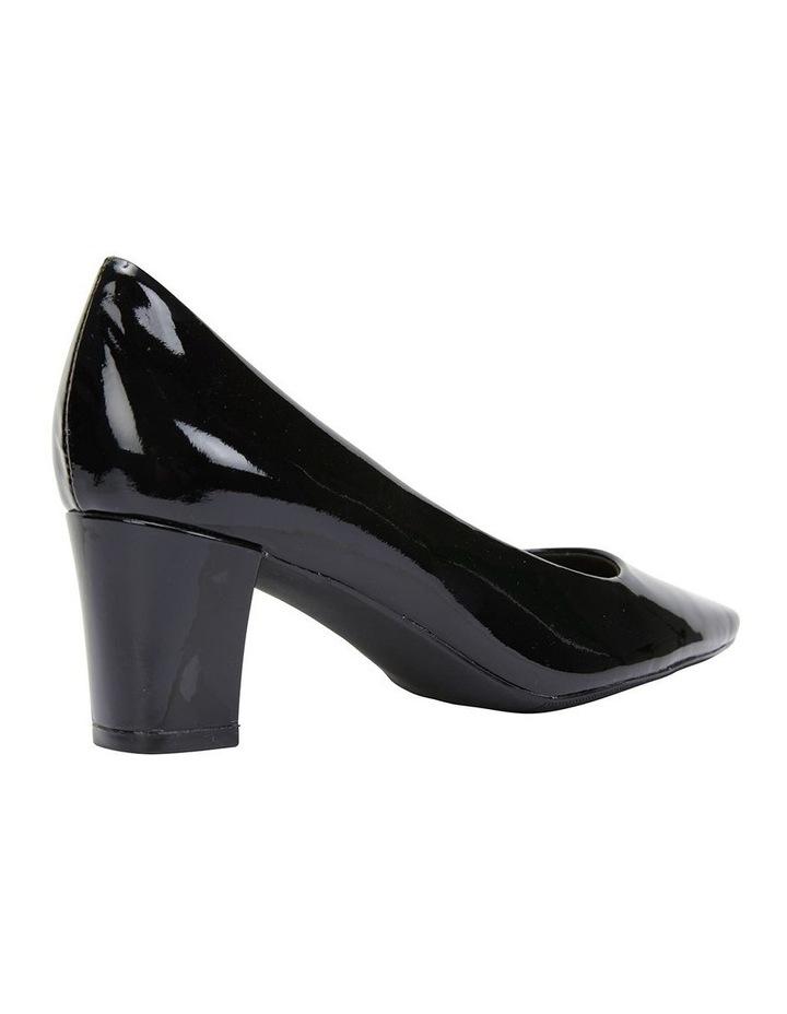 Nicole Black Patent Heeled Shoe image 4