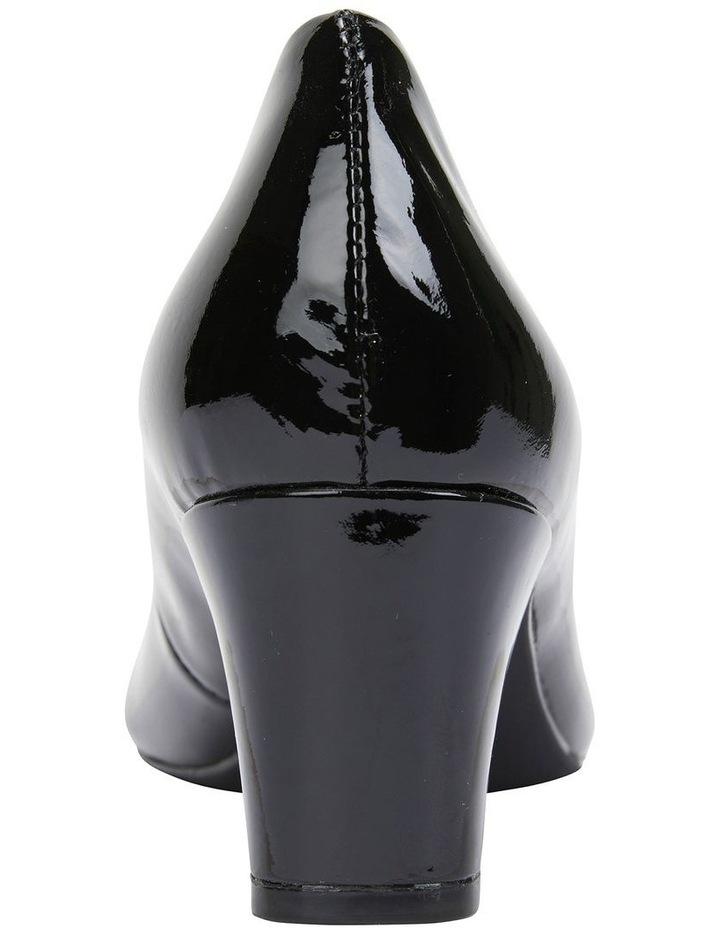 Nicole Black Patent Heeled Shoe image 5