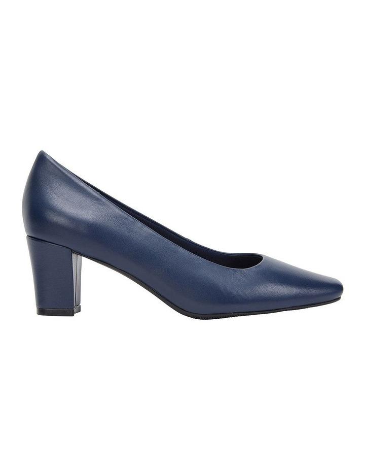 Nicole Navy Glove Heeled Shoe image 1