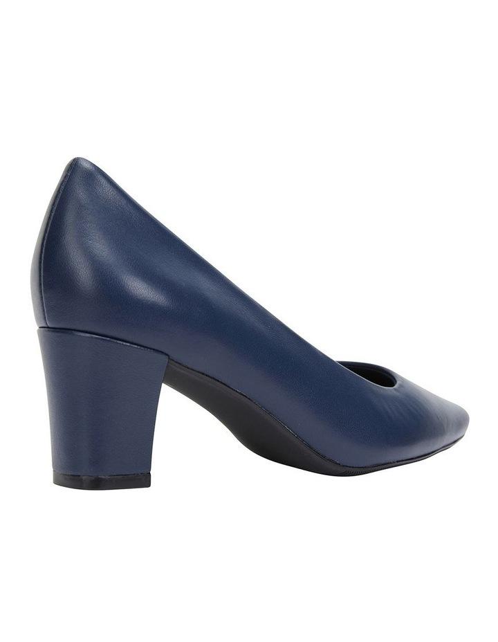 Nicole Navy Glove Heeled Shoe image 3