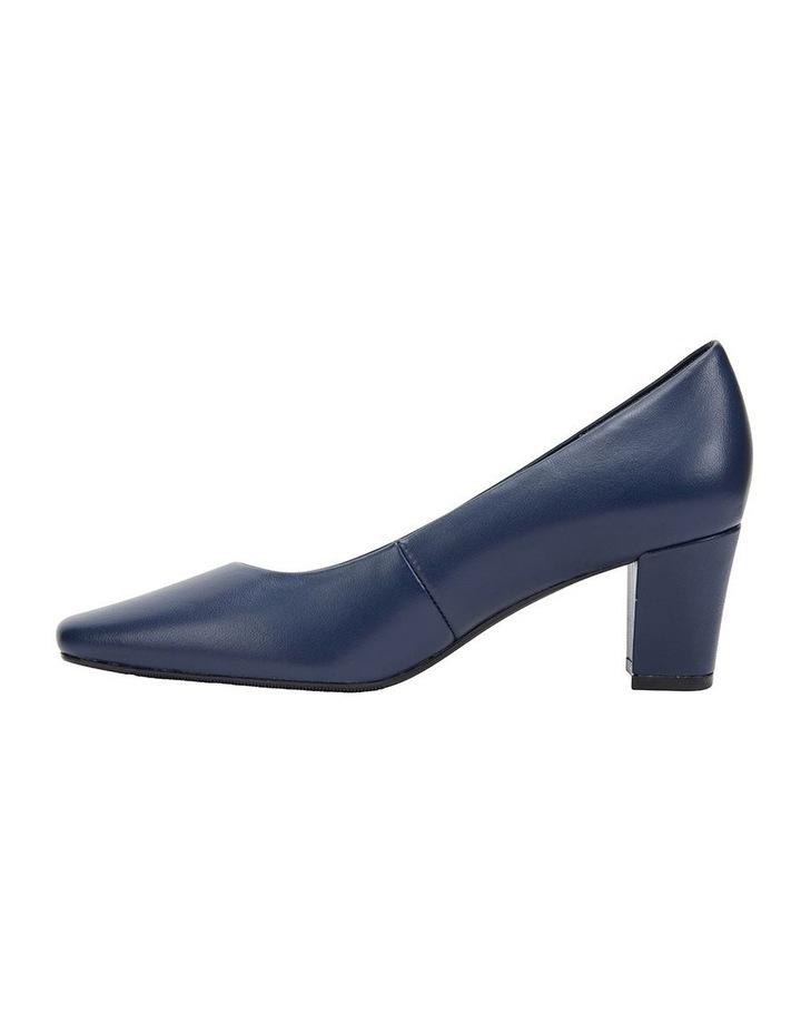 Nicole Navy Glove Heeled Shoe image 4