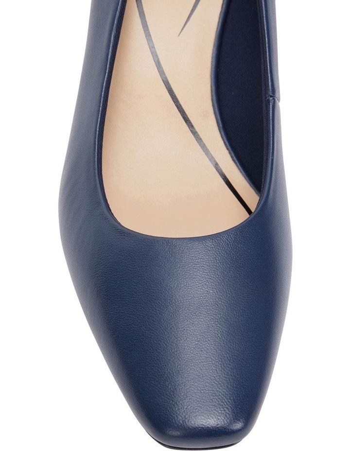 Nicole Navy Glove Heeled Shoe image 7