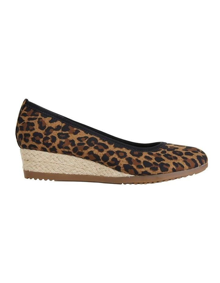 Inferno Animal Fabric Heeled Shoe image 1
