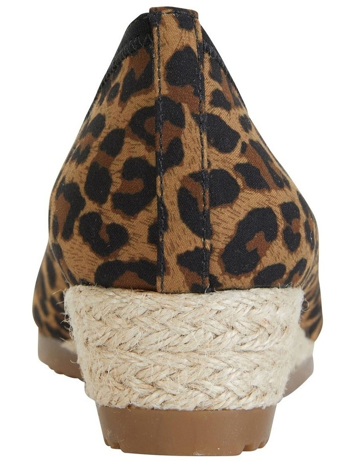 Inferno Animal Fabric Heeled Shoe image 4