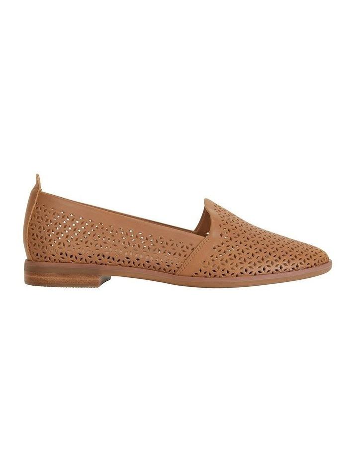 Kansas Cognac Glove Flat Shoes image 1