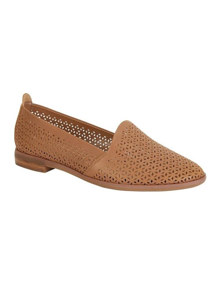 Kansas Cognac Glove Flat Shoes image 2