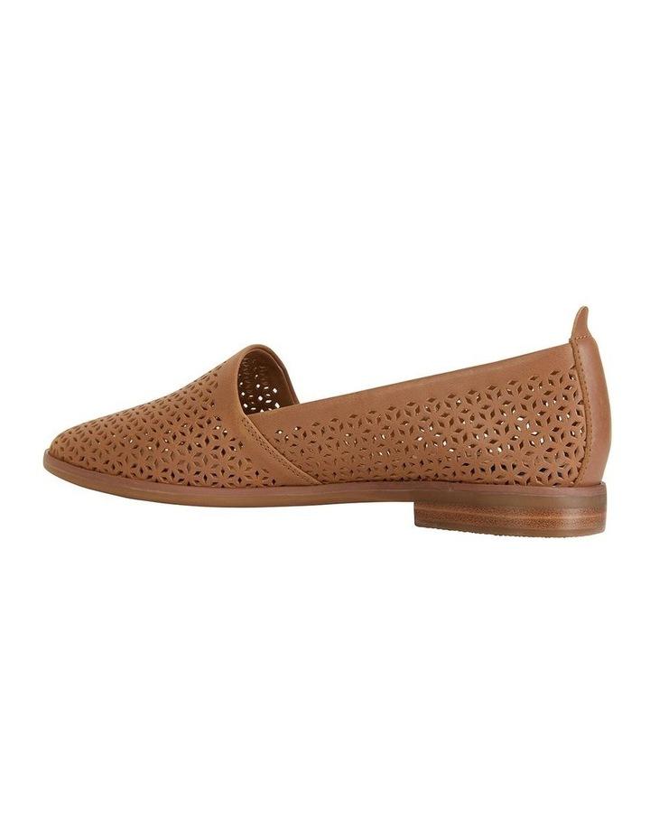 Kansas Cognac Glove Flat Shoes image 3