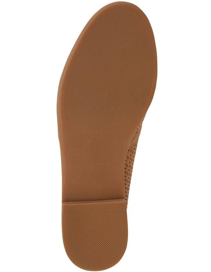 Kansas Cognac Glove Flat Shoes image 4