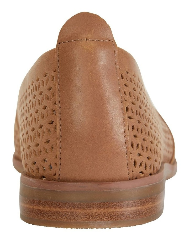 Kansas Cognac Glove Flat Shoes image 5