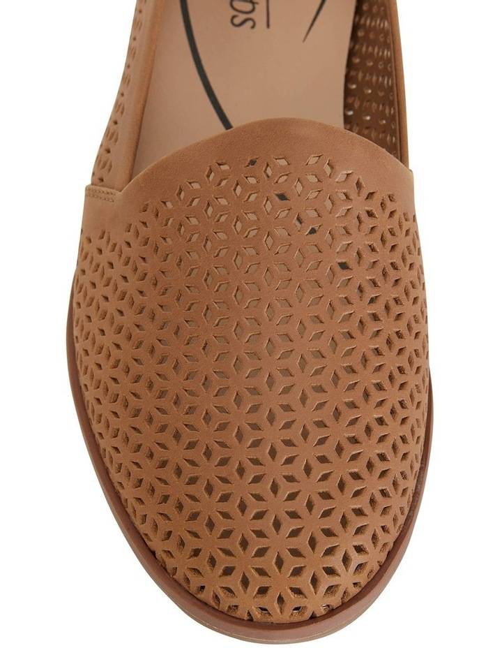 Kansas Cognac Glove Flat Shoes image 6