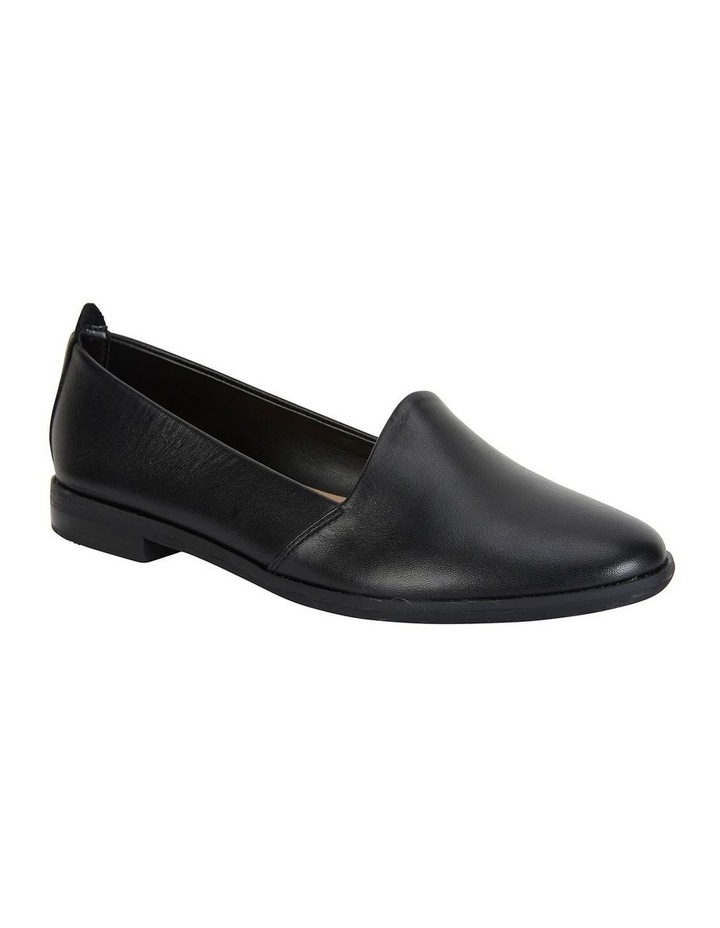 Kelly Black Glove Flat Shoes image 2