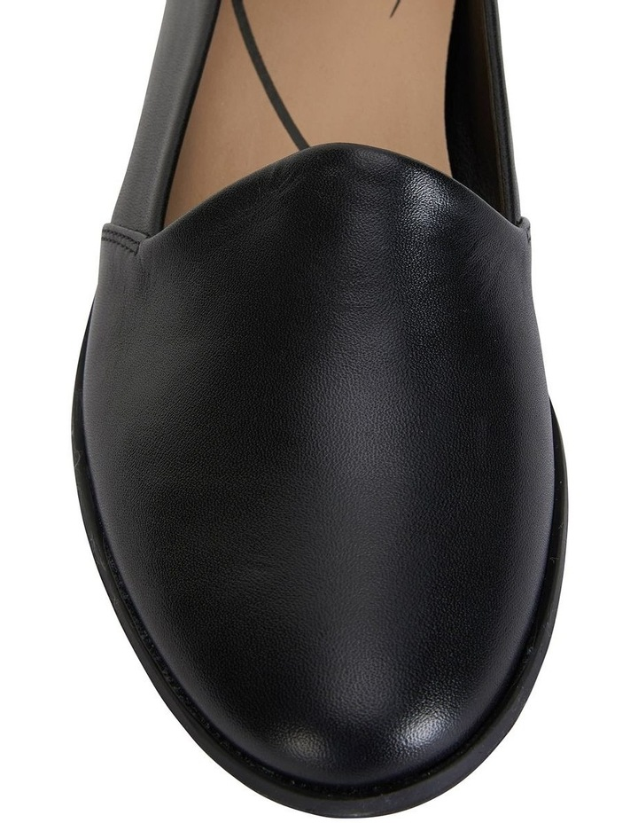 Kelly Black Glove Flat Shoes image 6
