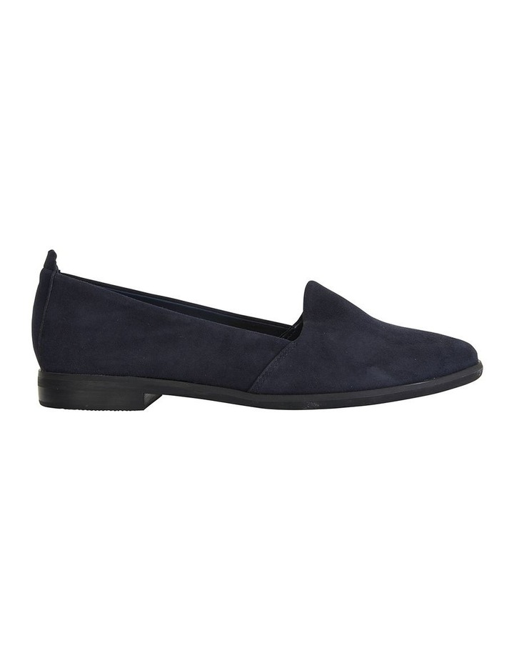 Kelly Navy Suede Flat Shoes image 1