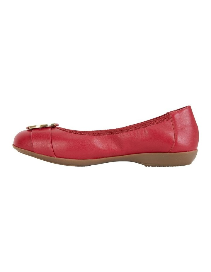 Nadine Red Glove Flat Shoes image 2