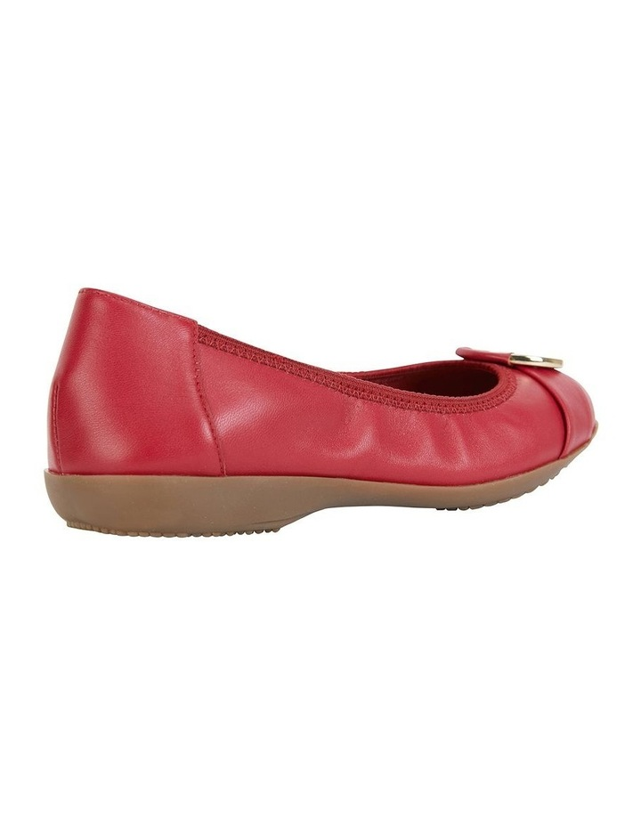 Nadine Red Glove Flat Shoes image 3