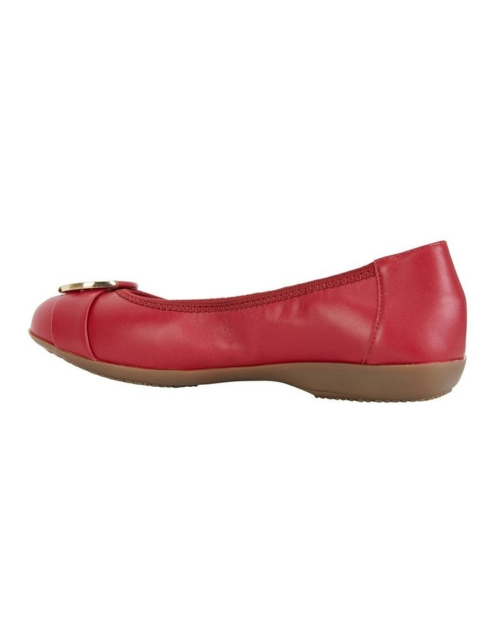 Nadine Red Glove Flat Shoes image 7
