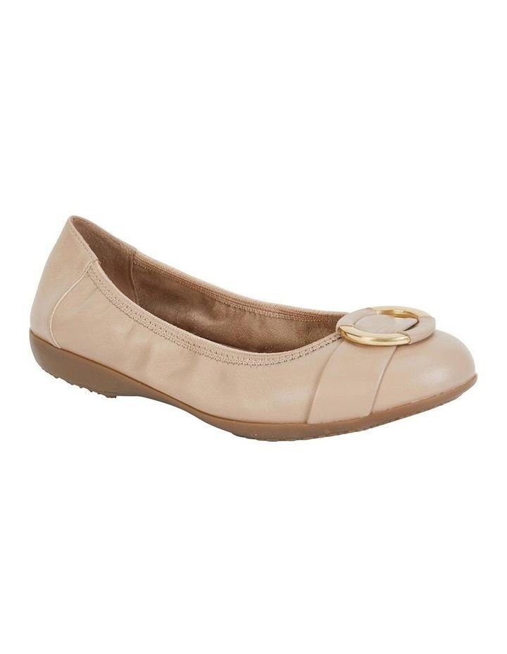 Nadine Nude Glove Flat Shoes image 2